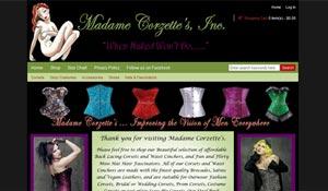 screenshot-website design-Madame Corzettes