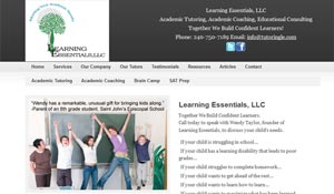 Screenshot-Website Design-Learning Essentials, LLC
